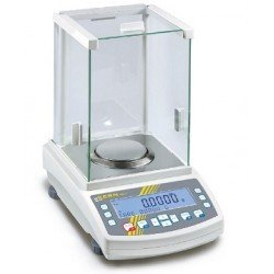 Analytical balance AEJ 200-4CM weighing range 220 g readout 0,1