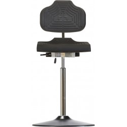 Chair with disc base PU-edge Classic WS 1211 E TPU