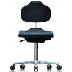 Krzesło na kółkach WS1220 E GMP Classic siedzisko/oparcie z