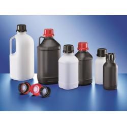 UN narrow neck bottle PE-HD 500 ml natural without screw cap GL
