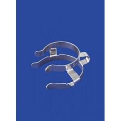 Zacisk do stożkowych złączy szlifowanych Keck NS 14/23 nikiel