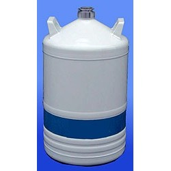 Liquid nitrogen container type TR11 made of aluminium 12,2 L