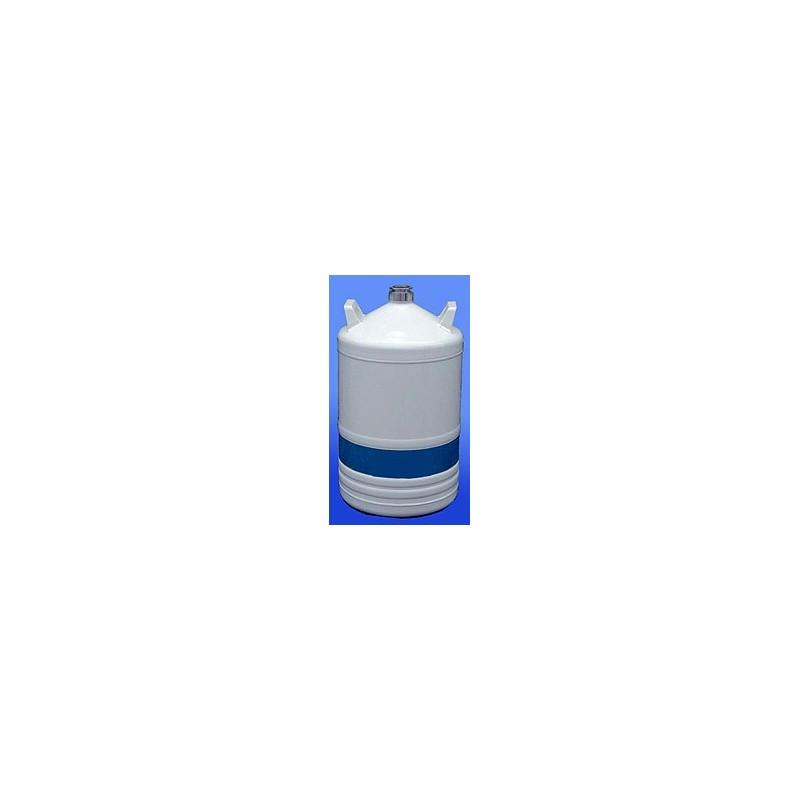 Liquid nitrogen container type TR21 made of aluminium 21,5 L