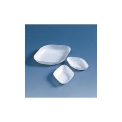 Einmal-Wägeschale PS 100 ml rautenförmig 120x90x17 mm VE 500
