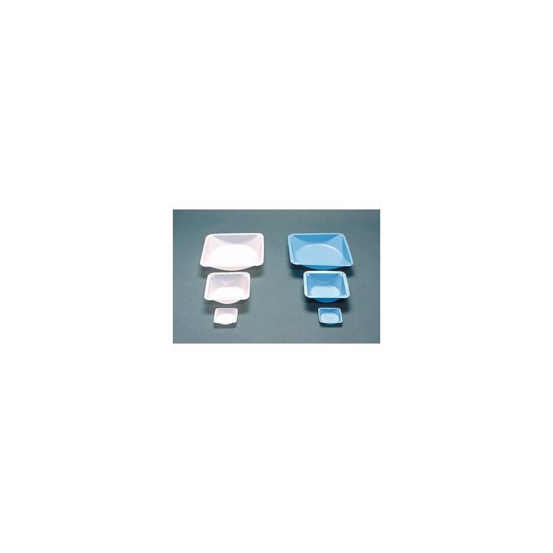 Jednorazowa szalka wagowa PS 100mL DxSxW 89x89x25 mm niebieska