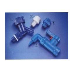 Zapfhahn blau PP für 5-60 L Vorratsflaschen Bild 2