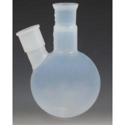Kolba kulista okrągłodenna dwuszyjna PFA 250 ml