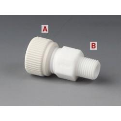 """Einschraub-Verbindungsstück PTFE Ø 10 mm G 1/4"""""""