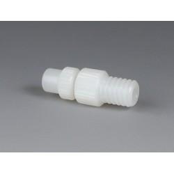 Vario-Schlauchkupplung PVDF Durchgangsbohrung 6,4 mm