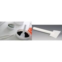 Skrobak PTFE długość 160 mm szerokość łopatki 50 mm Ø 20 mm