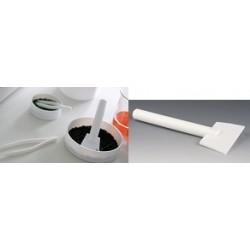 Skrobak PTFE długość 200 mm szerokość łopatki 120 mm Ø 20 mm