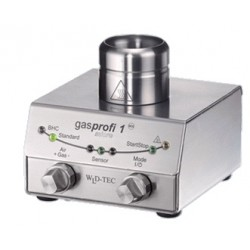 gasprofi 1 SCS micro mit DoubleClick IR-Sensor Edelstahlfußpedal