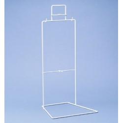 Urinbeutelständer Draht Polyamid weiß LxBxH 230 x 140 x 585 mm