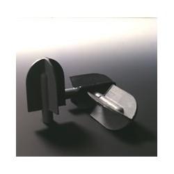 Skrobak w formie mieszadła otwór na trzpień Ø5 mm do probówek