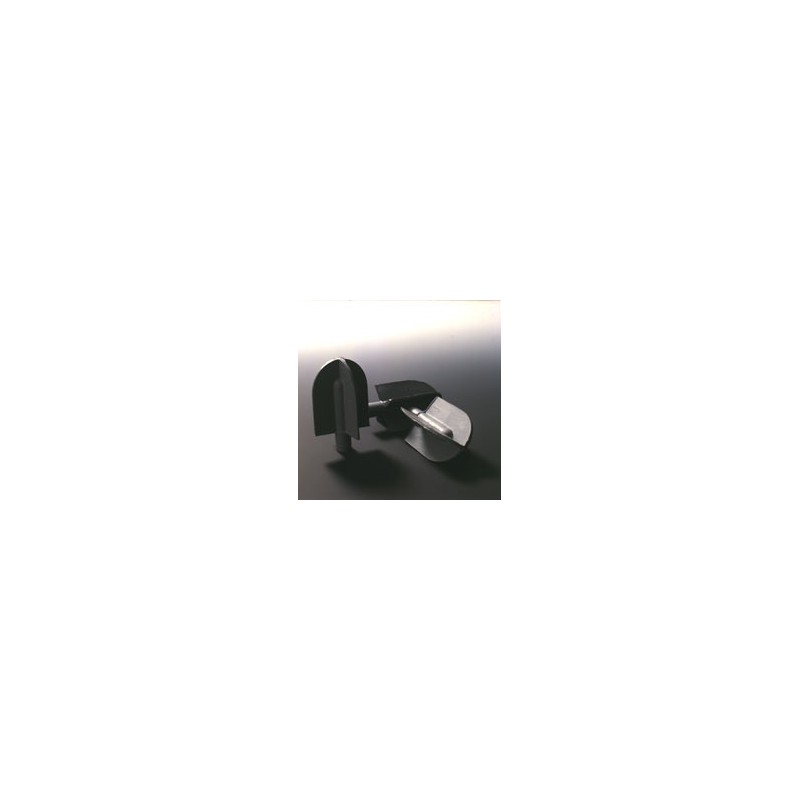 Reagenzglas-Reiniger Naturkautschuk grau Ø 30 mm für 5 mm Stab
