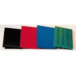 Schwimmständer grün geschäumtes PVC für 24 Reaktionsgefäße à 15