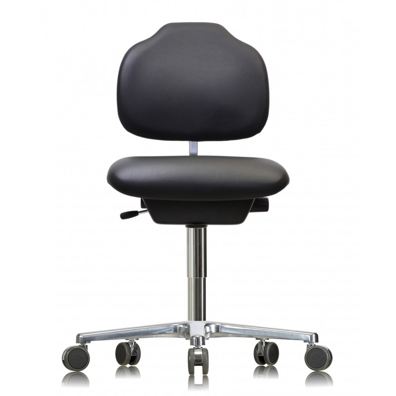 Chair with castors WS1320 KL GMP Classic seat/backrest with