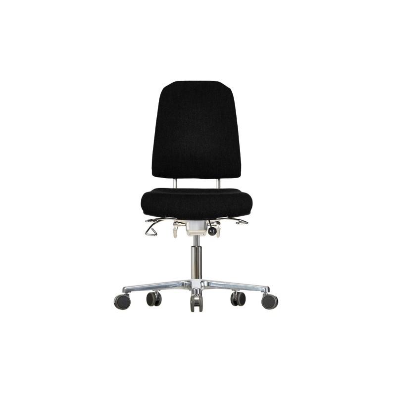 Chair with castors Klimastar WS9320 3D seat/backrest with 3D
