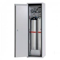 Gas cylinder cabinet G90.205.60-2F for two 50-litre-bottles