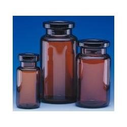 Serum tubing vials 2 ml amber glass neck Ø 13 mm Ø outer 15 mm