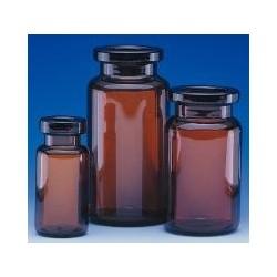 Serum tubing vials 10 ml amber glass neck Ø 20 mm Ø outer 24 mm