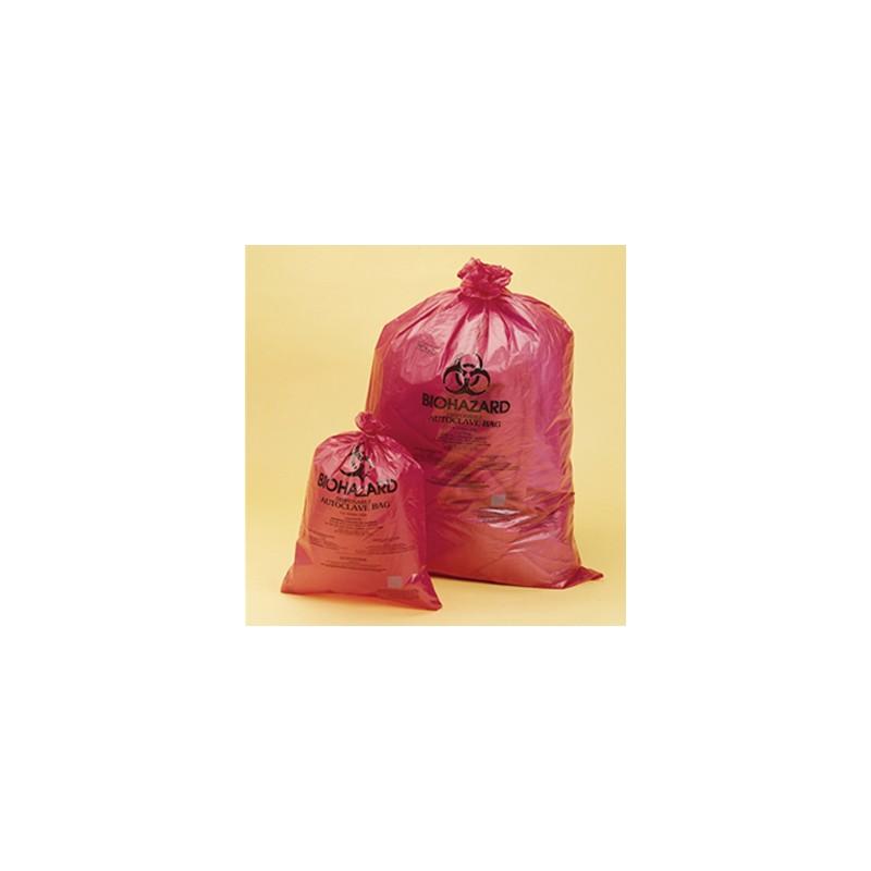 Disposable bag Biohazard PP 640x890 mm 0,03 mm steam