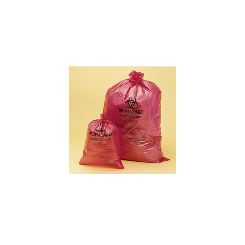 Disposable bag Biohazard PP 790x960 mm 0,03 mm steam