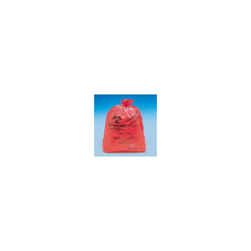 Disposable bag Biohazard 970x1220 mm autoclavable pack 100 pcs.