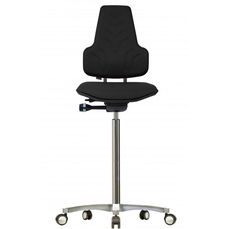 Hight chair with castors Werkstar WS8311.20 3D seat/backrest