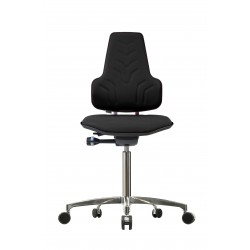 Chair with castors Werkstar WS8320 3D seat/backrest with fabric
