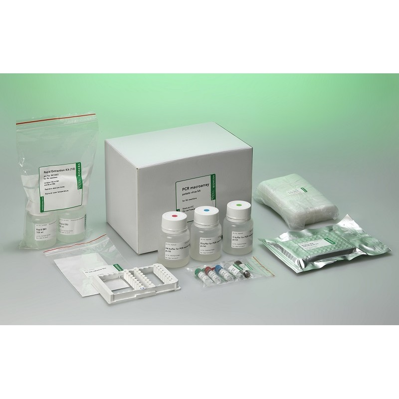 PCR macroarray potato virus kit 192 / 10x* Delivery on dry ice *