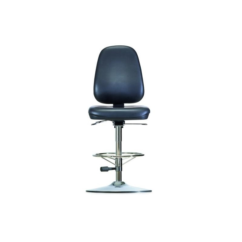 Chair with disc base WS 1711 T RR ESD Classic seat/backrest