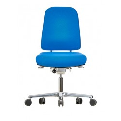 Chair with castors Klimastar WS9320 3D seat/backrest with 3D