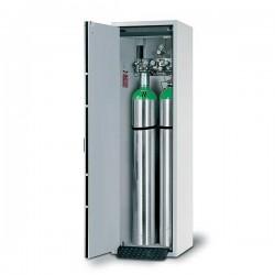 Szafa na butle z gazem G30.205.060 na 2 butle 50-litrowe szary