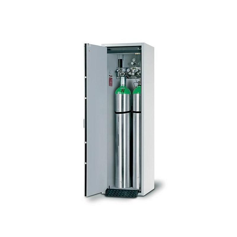 Druckgasflaschenschrank G30.205.060 max. zwei 50-Liter-Flasche