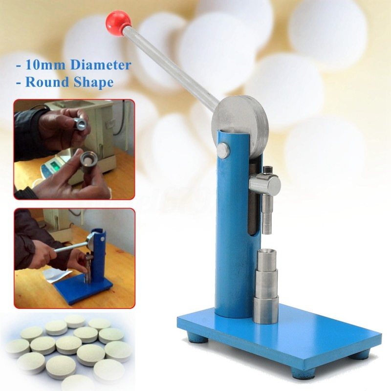 Pill Press Maschine for Labor with 10 mm holder