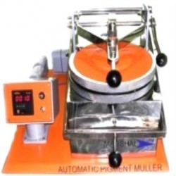Automatic pigment muller rpm 70-72 pressure by Leverage