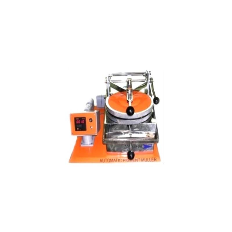 Farbenausreibemaschine Drehzahl 70-72 Upm, Belastung mit