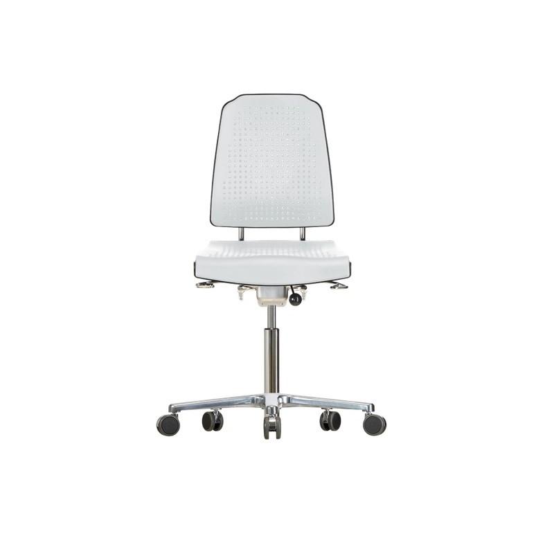 Chair with castors Klimastar WS9220 seat/backrest with Soft-PU