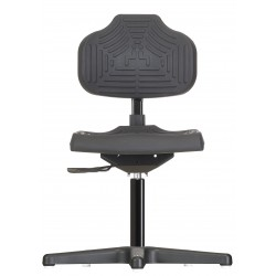 Chair with glides Econoline WS2210 seat/backrest with Soft-PU