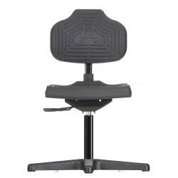 Krzesło na stopkach Econoline WS2210 siedzisko/oparcie z