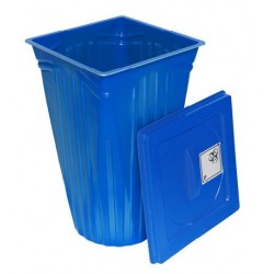 Disposal container for infectious and cytostatic waste 60 L BAM