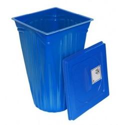 Entsorgungsbehälter für Infektiöse und Zytostatika-Abfälle 60 L