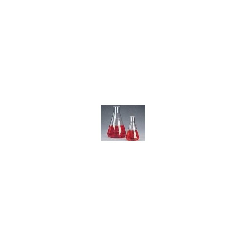 Kolba stożkowa Erlenmeyera 2000 ml PC karbowana op. 2 szt.