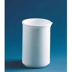Beaker 500 ml PTFE low form with spout