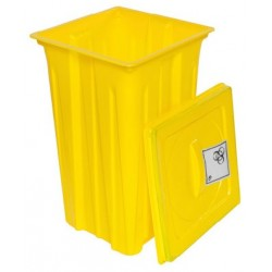Disposal container for infectious and cytostatic waste 50 L BAM