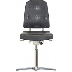 Chair with glides WS9210 ESD seat/backrest with Soft-PU