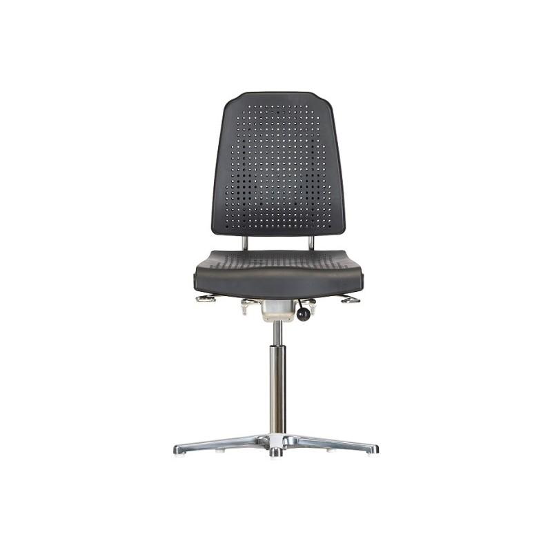 Krzesło na stopkach Klimastar WS9210 ESD siedzisko/oparcie z