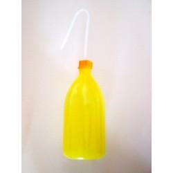 Tryskawka bez nadruku 1000 ml PE-LD wąskoszyjna żółta