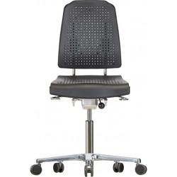 Krzesło na kółkach Klimastar WS9220 siedzisko/oparcie z Soft-PU